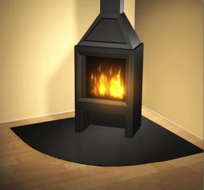 kaminglas kaminbodenplatten funkenschutz ofenrohre. Black Bedroom Furniture Sets. Home Design Ideas