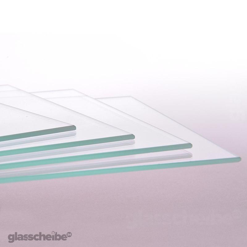 glas auf ma transparent 4 mm dicke glasscheibe auf wunsch bis 300 x 300 mm ebay. Black Bedroom Furniture Sets. Home Design Ideas