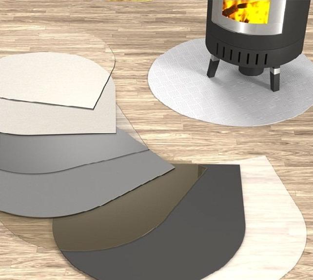 glasplatte metallplatte unterlegplatte vorlegeplatte glas. Black Bedroom Furniture Sets. Home Design Ideas